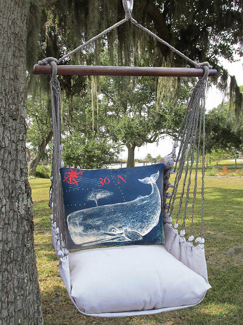 LT Swing Set w/ Whale Pillow, LTTC611-SP