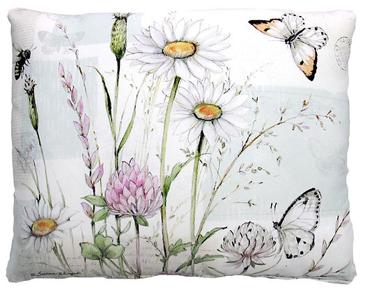 Botanical Butterfly Pillow, SW205, 2 sizes