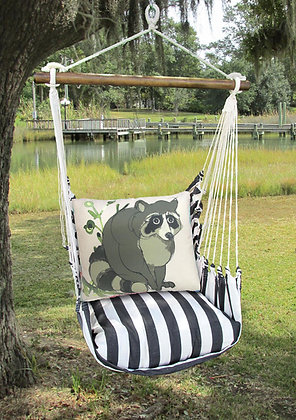 Raccoon Pillow and TB Swing Set, TBRR611-SP