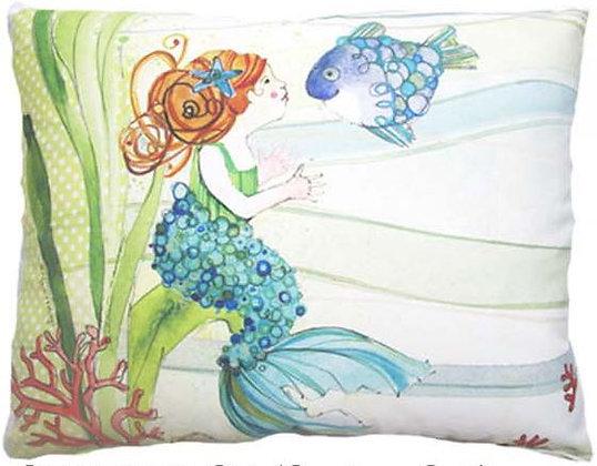 Mermaid Pillow, RR702, 2 sizes