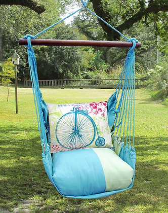 MM Swing Set w/ Bicycle Pillow, MMTC607-SP