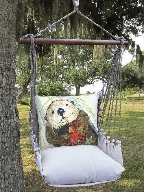 LT Swing Set w/ Sea Otter Pillow, LTRR710-SP
