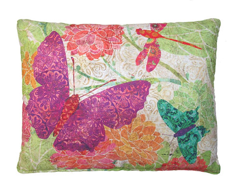 LT Pillow, Butterflies, TC511HP, 19x24