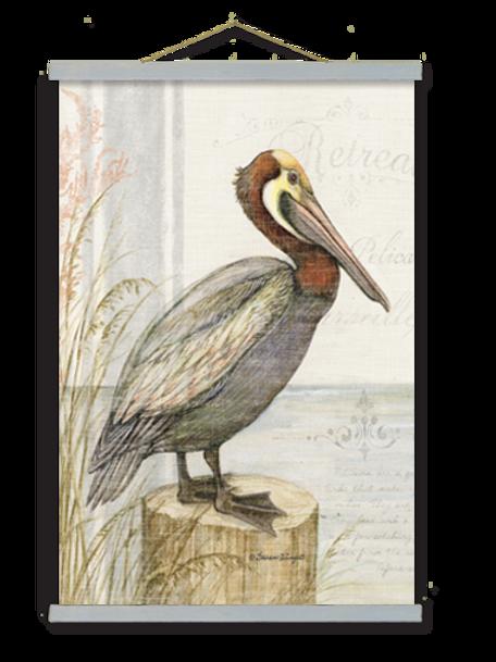 Pelican on Perch, SW902, 2 sizes