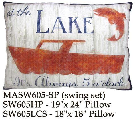 Lake Boat, SW605, 2 sizes