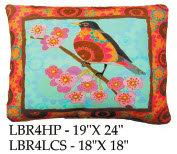 Bird Pillow, LBR4, 2 sizes