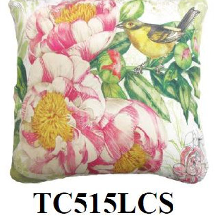 Bird & Flower, TC515LCS, 18x18 only