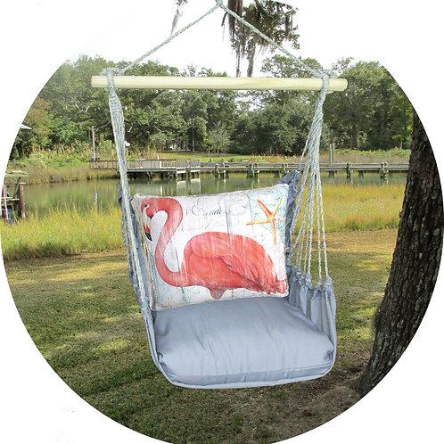 Flamigo Swing Set w/ Gray, GRSW804-SP