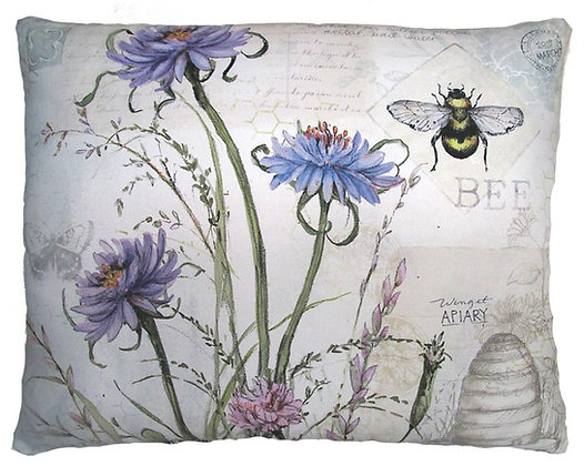 Botanical Bee Pillow, SW204, 2 sizes