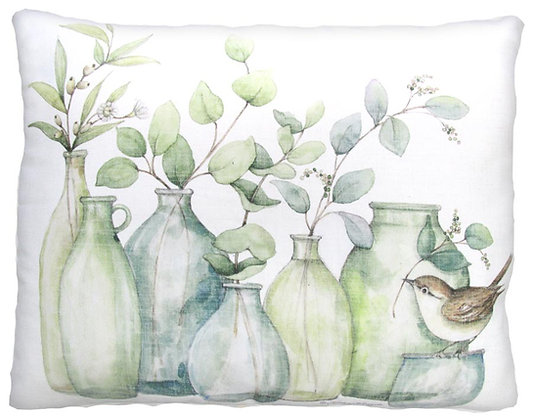 Vases Pillow, SW904, 2 sizes available