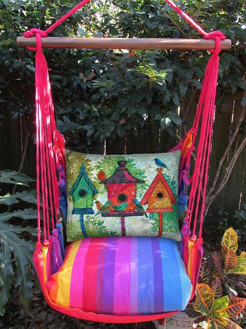 Birdhouses Swing Set, RBTC3B-SP