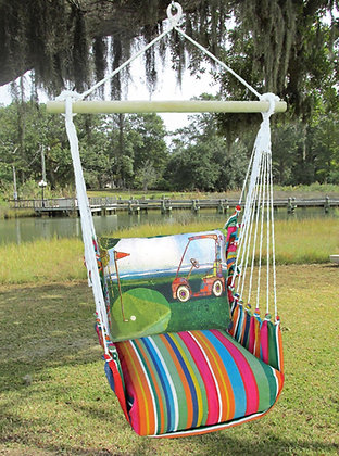 Golf Cart Swing Set, LJRR620-SP