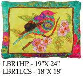 Bird Pillow, LBR1, 2 sizes