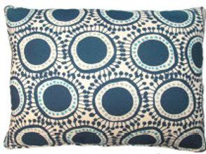 Navy Circles Pillow, RRFOLCB, 2 sizes