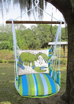 Beach Boulevard Swing Set w/ Lobster,  BBRR619-SP