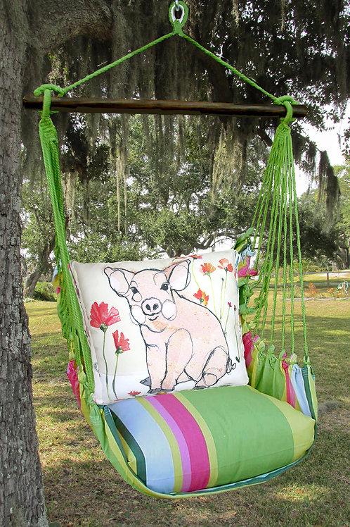 Pig Swing Set, FLRR812-SP