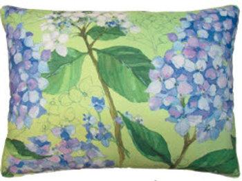 FO Pillow, Blue Hydrangea 2, SR502HP, 19x24