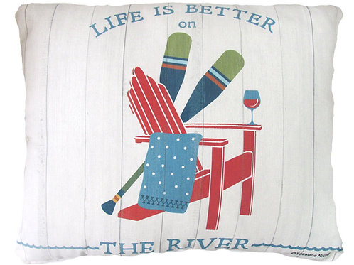 Life is Better on the River, SN802HP, 2 sizes