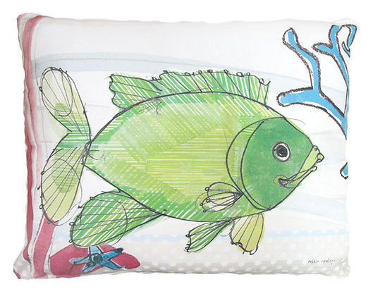 Fish Pillow, RR804, 2 sizes
