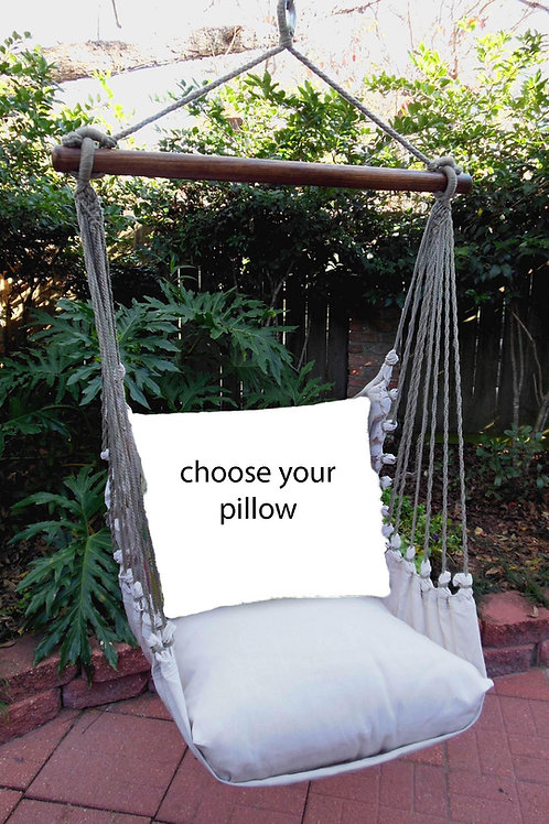 Latte Swing Set (Without Back Pillow)