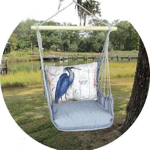 Crane Swing Set w/ Gray, GRSW803-SP