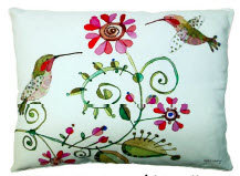 PK Pillow, Hummingbird Love, HULVLCS, 18x18