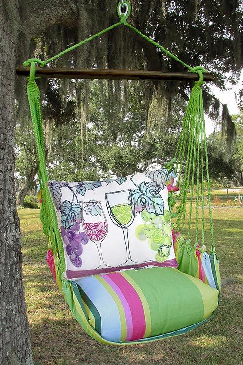 Wine Duo Swing Set, FLRR811-SP