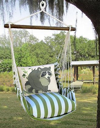 Raccoon Pillow & Swing Set, SPRR611-SP