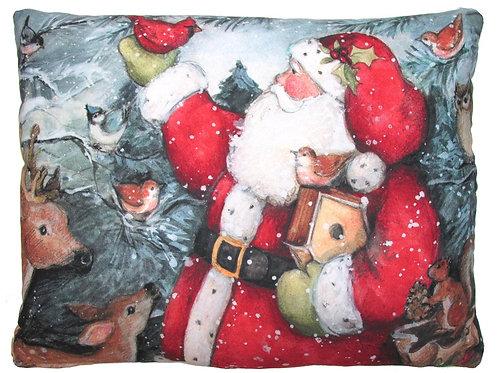 Santa and Reindeer, SWSFHP, 19x24
