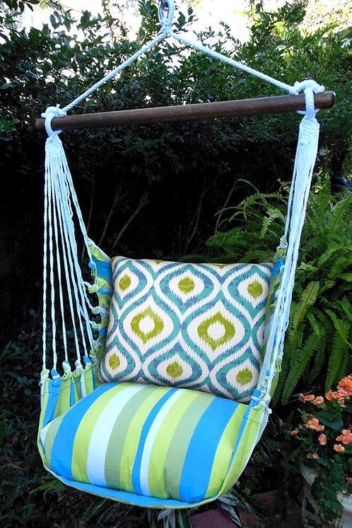Swing Set, Geomentric Ikat Pattern, BBLHIBB
