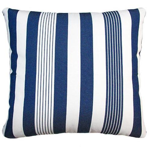 Marina Stripe Fabric Pillow, MA170CL, 24x24