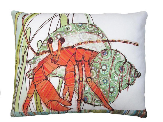 Hermit Crab Pillow, RR501, 2 sizes