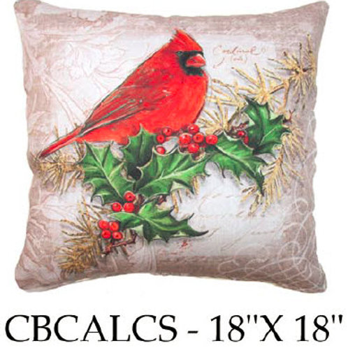Cardinal and Holly, CBCALCS, 18x18 only