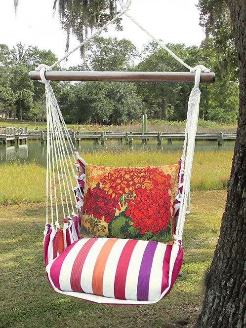 CR Swing Set w/ Hydrangeas, CRTC702-SP