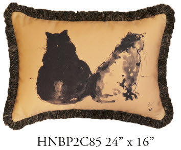 Cat Pillow, 24x16, HNBP2C85