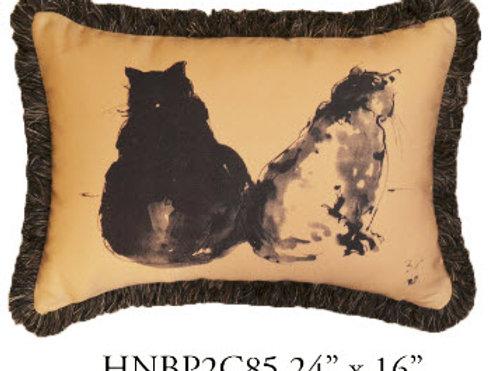 Cat Pillow, 24x16, HNBP2C85