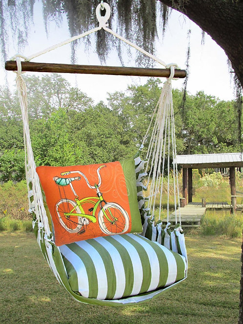 SP Swing Set w/ Retro Bicycle Pillow, SPRR617-SP