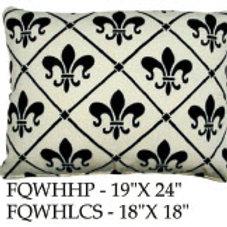 French Quarter White, FQWH, 2 sizes
