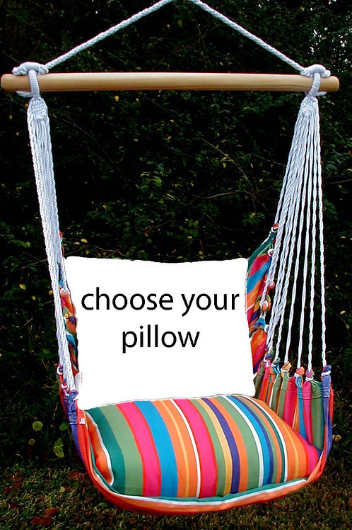 Le Jardin Swing Set (Without Back Pillow)