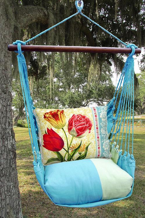 MM Swing Set w/ Tulips 2 Pillow, MMSN702-SP