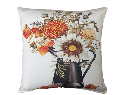 MLT710LCS, Fall Flowers, 18x18