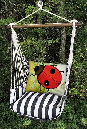 TB Swing Set w/ Ladybug Pillow, TBRLB-SP