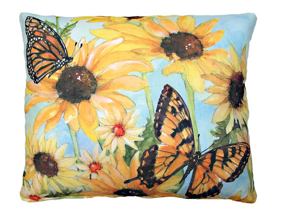 TB Pillow, Butterflies, SR503LCS, 18x18