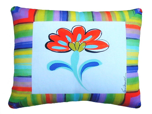 Fine and Dandy Flower,  Pillow, FDF,  2 sizes