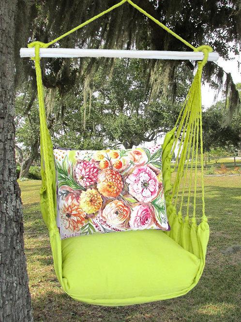Painterly Flowers Swing Set, LMLS902-SP