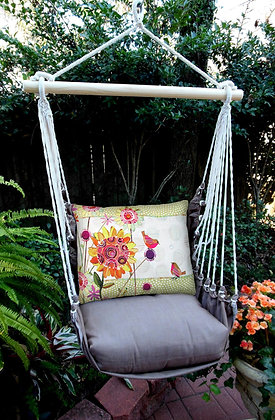 CH Swing Set, Birds & Flowers, CHRRWMB-SP