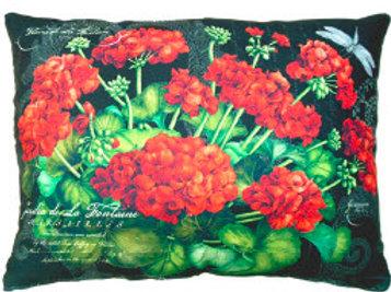 Geraniums Pillow, GERB, 2 sizes