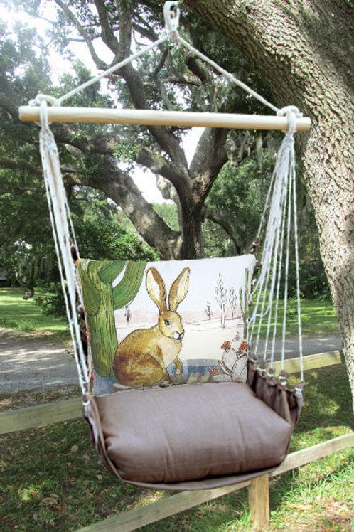 CH Swing Set w/ Rabbit,  CHRR709-SP