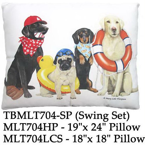 Dogs of Summer, MLT704, 2 sizes
