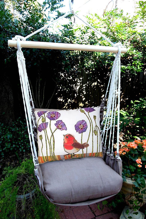 CH Swing Set w/ Red Robin Pillow, CHRR504-SP